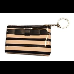 Kate Spade Chelsea Park Patent Stripe Coin Purse